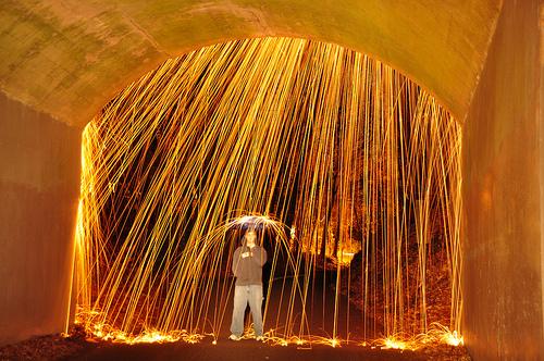 Flores en el tico ducha de luz y fuego - Lapuente exteriorismo ...